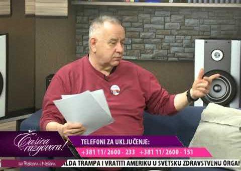 Casica razgovora – dr Aleksandar Pajic, gradonacelnik Sapca (TV KCN 22.01.2021)