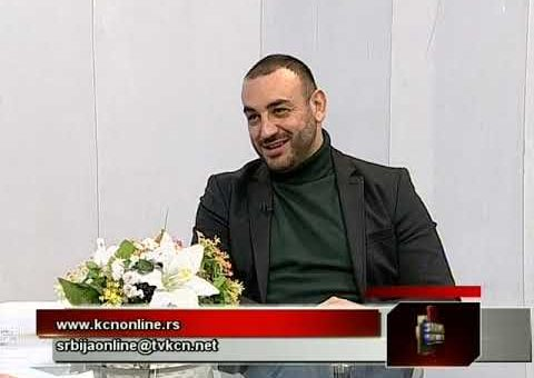 Srbija onlije – Ivan Jegorovic, scenarista (TV KCN 21.01.2021)