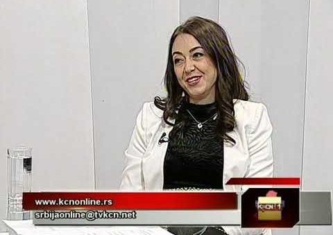 Srbija online – Jelena Borovcanin (TV KCN 20.04.2021)