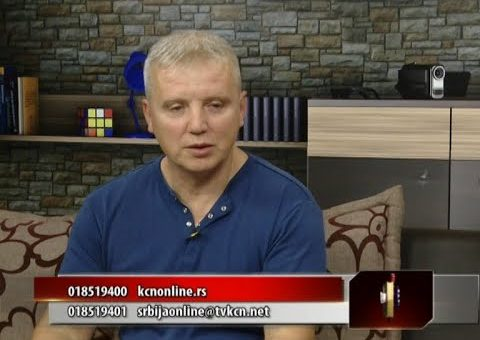 Srbija online – Dragan Miljkovic ( TV KCN 03.08.2021)