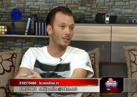 Srbija online – Milos Petkovic ( TV KCN 03.08.2021)