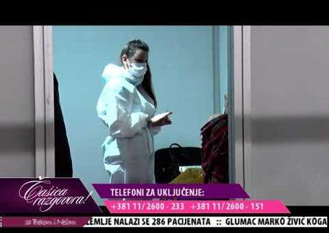 Casica razgovora – Spec dr Med Branislava Najic, pneumofiziolog ( TV KCN 15.10.2021.)