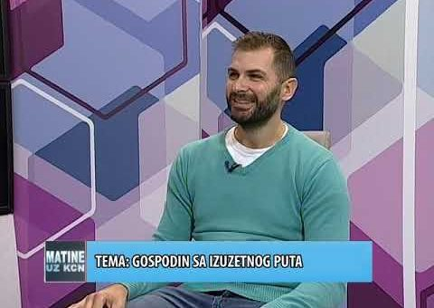 KCN Matine – Marko Stefanovic, svetski putnik (TV KCN 16.10.2021)