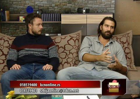 Novi singl benda Bohemija  – Janko Džambas i Mihajlo Ivanović (Srbija online TV KCN 26.10.2021)