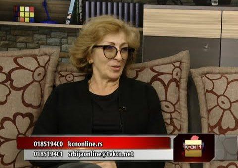 Poezija za decu i književnost na dijalektu – Violeta Jović (Srbija online TV KCN 26.10.2021)