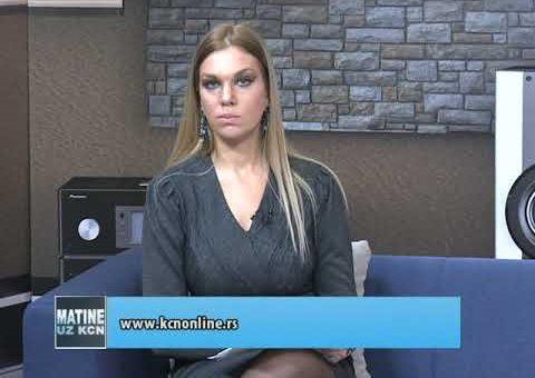 KCN Matine – Fono ukljucenje dr Ivana Nikolic Brstina (TV KCN 19.12.2020)