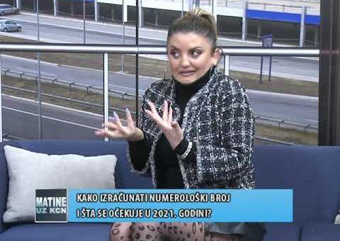 KCN Matine – Gordana Dragisic (TV KCN 19.12.2020)