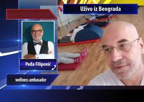 KCN Popodne – Fono ukljucenje Pedja Filipovic, wellness ambasador (TV KCN 19.12.2020)