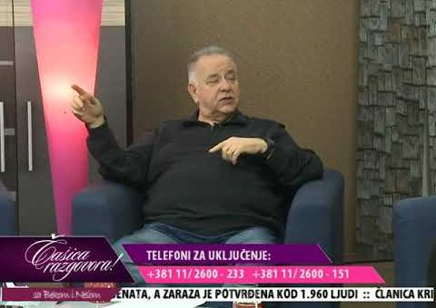 Casica razgovora – Slavoljub Ristic, direktor marketinga odbojkaskog kluba TENT (TV KCN 09.02.2021)