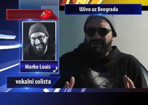 KCN Popodne – Fono ukljucenje, Marko Louis, vokalni solista (TV KCN 06.02.2021)