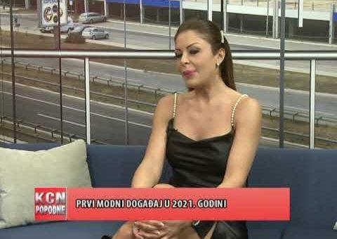 KCN Popodne – Mirna Nadj, modna kreatorka (TV KCN 06.01.2021)