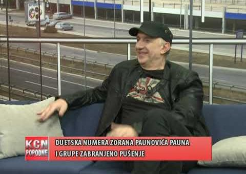 KCN Popodne – Zoran Paunovic Paun, pevac (TV KCN 06.02.2021)