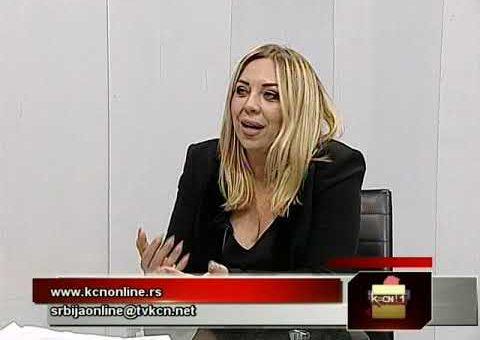 Srbija online – Lesa Karic (TV KCN 09.02.2021)