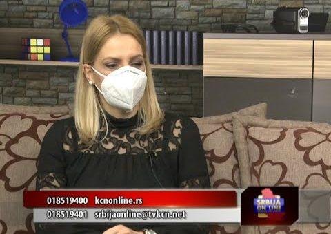 Srbija online – Radmila Mladenovic TV KCN (08.02.20218)