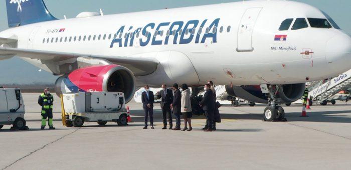 "Info – Ministar Momirović obišao aerodrom ""Car Konstantin"" – (TV KCN 08.03.2021)"