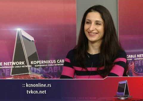 Prizma – Marija Zekić – (TV KCN 09.03.2021)
