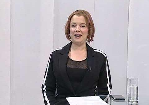 Srbija online – Fono ukljucenje Mina Lukic, PR Vulkan izdavastva (TV KCN 06.05.2021)