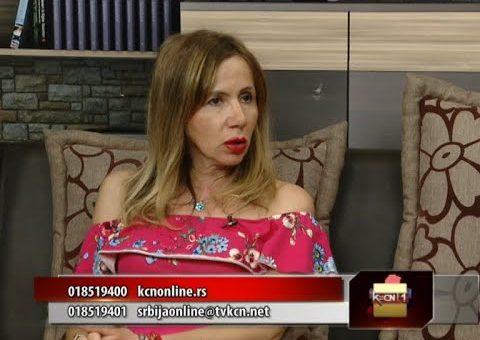 Srbija online – Dijana Djordjevic (TV KCN 22.07.2021)