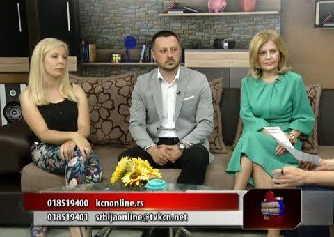 Srbija online – Sladjana Golubovic, Ivana Jovanovic i Marko gasic *TV KCN 21.07.2021(