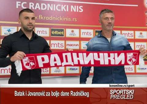 Batak i Jovanović za bolje dane Radničkog