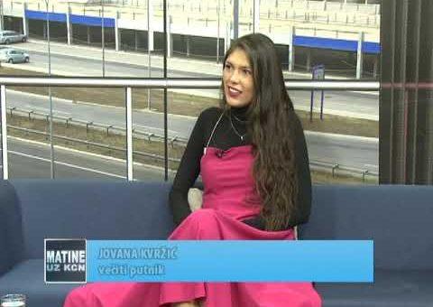 KCN Matine – Jovana Kvrzic  – veciti putnik ( TV KCN 25.09.2021.)