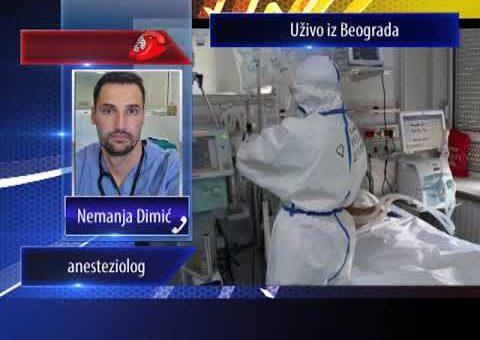 KCN Matine – Nemanja Dimic – anesteziolog ( TV KCN 25.09.2021.)