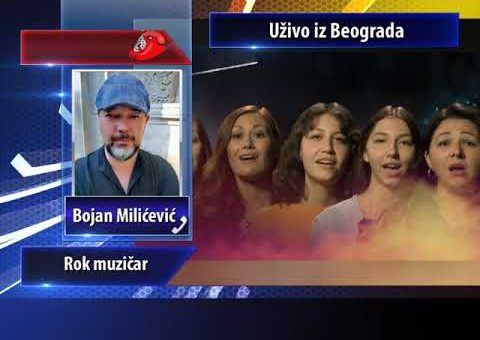 KCN Popodne – Bojan Milicevic, rok muzicar Fono Ukljucenje (TV KCN 25.09.2021)