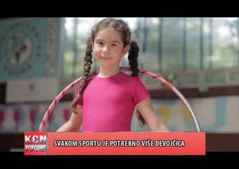KCN Popodne – Jelena Pavicevic, predstavnica Institut za zenski sport (TV KCN 25.09.2021)